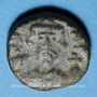 Coins Empire byzantin. Constant II (641-668). 1/2 follis. Carthage, 4e émission, 648-658