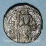 Coins Empire byzantin. Constant II (641-668). 1/2 follis. Carthage, 641-643
