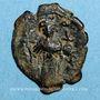Coins Empire byzantin. Constant II (641-668). Follis. Constantinople. 2e officine, 645-646
