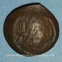 Coins Empire byzantin. Isaac II (1185-1195). Trachy de billon