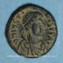 Coins Empire byzantin. Justin I (518-527). Pentanoummion. Constantinople. 2e officine, 522-527
