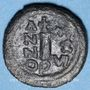 Coins Empire byzantin. Justinien I (527-565). Décanoummion. Atelier incertain : Perugia  552-553