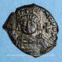 Coins Empire byzantin. Justinien I (527-565). Décanoummion. Théoupolis (Antioche), 551-552