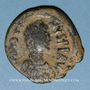 Coins Empire byzantin. Justinien I (527-565). Follis. Constantinople, 4e officine, 527-538