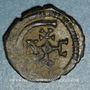 Coins Empire byzantin. Justinien I (527-565). Pentanoummion. Théoupolis (Antioche), 1ère officine, 561-565