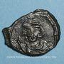 Coins Empire byzantin. Justinien II, 1er règne (685-695). 1/2 follis. Constantinople, 685-686