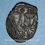 Coins Empire byzantin. Léon IV (775-780). Follis. Constantinople, 776-778