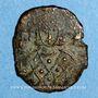 Coins Empire byzantin. Léon V (813-820). Follis. Syracuse