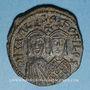 Coins Empire byzantin. Michel II d'Amorium (820-829). Follis. Constantinople, 821-829