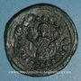 Coins Empire byzantin. Monnayage anonyme attribué à Alexis I (1081-1118). Follis, classe K