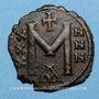 Coins Empire byzantin. Nicéphore (802-811) Follis. Constantinople, 1ère officine 803-811