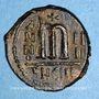 Coins Empire byzantin. Phocas (602-610). Follis. Théoupolis, 605-606