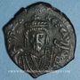 Coins Empire byzantin. Phocas (602-610). Follis. Théoupolis. 609-610