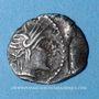 Coins Allobroges. Région du Dauphiné - Ambilli Eburo. Denier, 1er s. av J-C