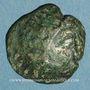 Coins Ambiani. Région d'Amiens. Bronze au cheval et au sanglier, vers 60 - 30/25 av. J-C