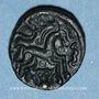 Coins Ambiani. Région d'Amiens. Bronze aux sangliers affrontés, vers 60 - 30/25 av. J-C