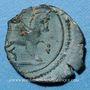Coins Atrébates. Région d'Arras - Andobru. Bronze, 51-48 av. J-C