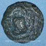 Coins Aulerques Eburovices. Région d'Evreux. Bronze, 2e moitié du 1er siècle av. J.-C