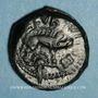 Coins Aulerques Eburovices. Région d'Evreux. Ebvrovicos - Avlirco. Bronze, vers 50-40 av. J-C