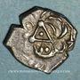 Coins Cadurques. Région de Cahors. Drachme à la tête triangulaire, 1er siècle av. J-C