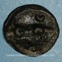 Coins Carnutes. Région de Chartres. Potin aux croissants, 1er s. av J-C.