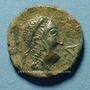 Coins Celtibérie. Castulo. Semis, 1er siècle av. J-C