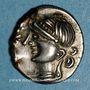 Coins Eduens. Bourgogne - Viipotal. Denier, vers 60-54 av. J-C