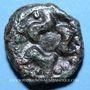 Coins Lingones. Région de Langres. Potin aux trois poissons, vers 80-50 av. J-C