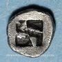 Coins Marseille. Hémiobole milésiaque au bonnet perlé, 470-460 av. J-C