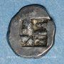 Coins Marseille. Hémiobole milésiaque au sanglier ailé, 500-470 av. J-C. Type du trésor d'Auriol