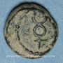 Coins Marseille. Petit bronze au caducée, 49-25 av. J-C