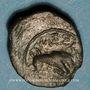 Coins Marseille. Petit bronze au taureau, 150-100 av. J-C