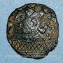 Coins Parisii. Région Parisienne.  Bronze au filet, vers 60-30/25 av. J-C