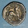 Coins Rémi. Région de Reims. Atevla-Vlatos. Quinaire classe I var 1, vers 60-30 av. J-C