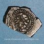 Coins Rutènes. Région de Rodez. Drachme au sanglier et à la petite tête au collier perlé, 1er s. av. J-C
