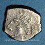 Coins Rutènes. Région de Rodez. Drachme au sanglier et lunules, 1er s. av. J-C
