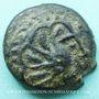 Coins Sénones. Région de Sens - Yllucci. Bronze,  vers 50-30 av. J-C