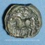 Coins Séquanes. Région de Besançon - Turonos-Cantorix. Potin, vers 50-30 av. J-C