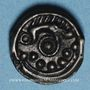 Coins Suessiones. Région de Soissons. Potin au sanglier, vers 60-30/25 av. J-C
