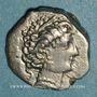 Coins Transpadane. Insubres. Région de Milan. Drachme imitant le type de Marseille, 2e s. av. J-C
