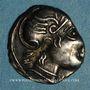 Coins Voconces. Vallée du Rhône - Durnacos-Auscrocos. Denier, vers 75 av. J-C