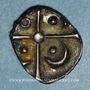Coins Volques Tectosages. Région de Toulouse. Drachme à la tête négroïde, 2e siècle av. J-C