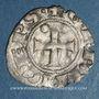Coins Orient Latin. Princes d'Achaïe. Guillaume de Villehardouin (1245-1278). Denier tournois