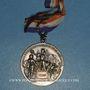 Coins Médaille de l'Alliance Syndicale du Commerce et de l'Industrie. Bronze argenté