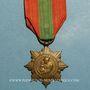 Coins Médaille de la Famille Française (décret de 1920). Médaille de bronze. 2e modèle