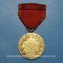 Coins Médaille du Travail de la Société Industrielle de l'Est. Vermeil (poinçon argent 1er titre)