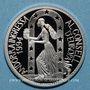 Coins Andorre. Principauté. 10 diners 1995. Admission au Conseil de l'Europe. (PTL 925‰. 31,47 g)