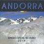 Coins Andorre. Principauté. Série FDC 2014
