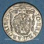 Coins Autriche. Archevêché de Salzbourg. Jean Ernest (1687-1709). Kreuzer 1702