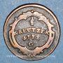 Coins Autriche. Burgau. Marie-Thérèse (1740-1780). 1/2 kreuzer 1772G. Günzbourg